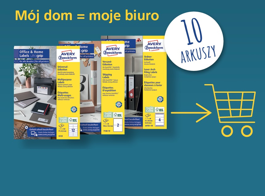 Office&Home koszyk baner