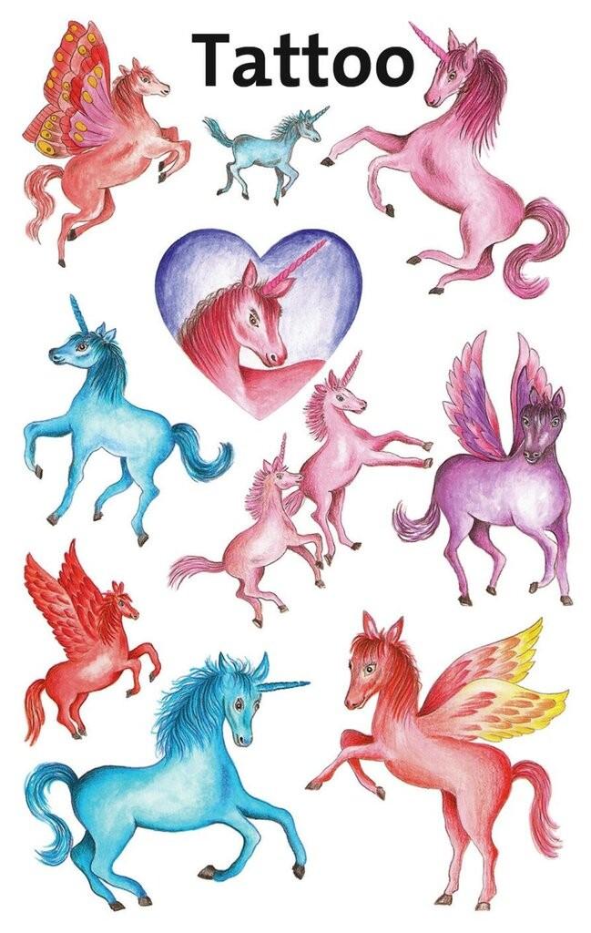 Tatuaże Dla Dzieci Jednorożce 56669 Avery Zweckform